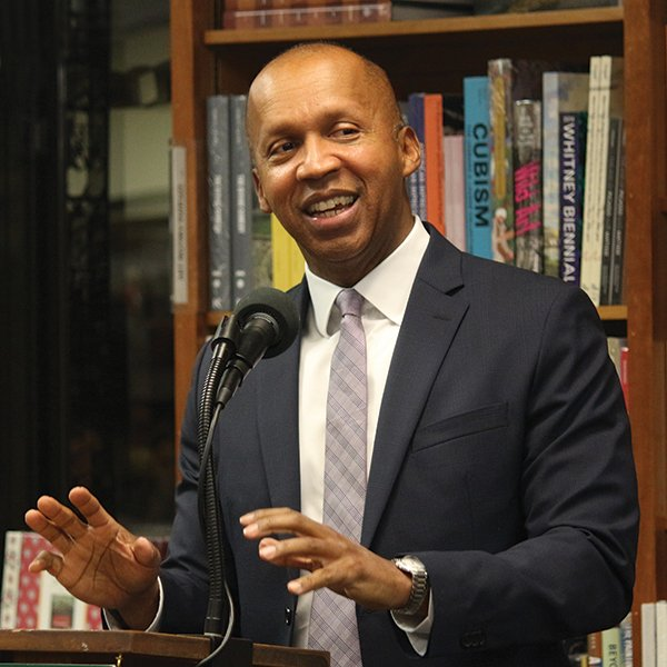 Photo of Bryan Allen Stevenson, a native Delawarean, renowned lawyer, and social justice advocate